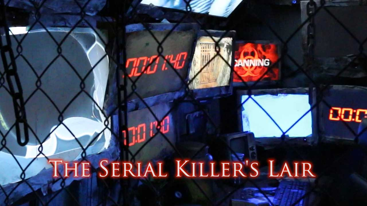 Escape rooms new orleans serial killers lair