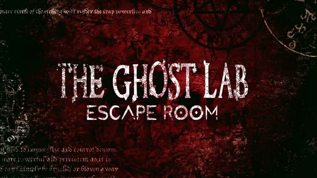 ghost lab escape room logo